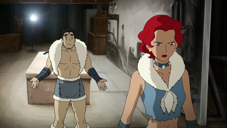 Bolin from Avatar Legend of Korra is confused about how Ginger feels about him.