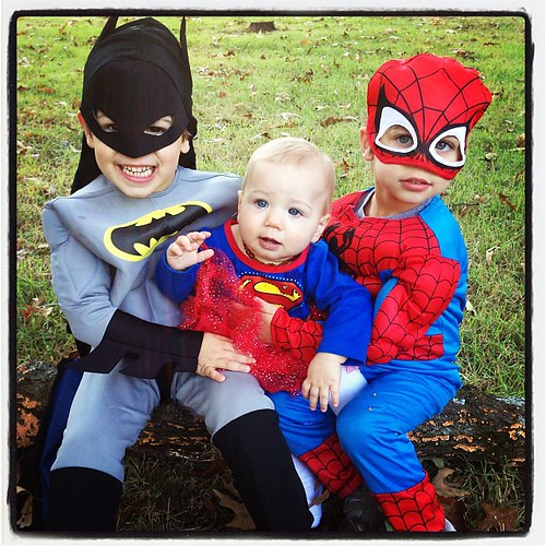 The Spence Superheroes!  #zooboo