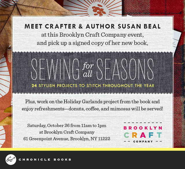 Sewing for all Seasons party invite!