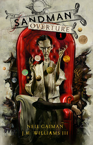 Sandman Overtures #1Cover for the 25th-anniversary story Neil is currently