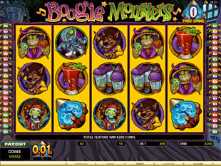 Boogie Monsters Free Spins