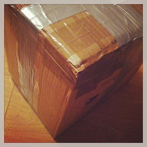 A huge box of secret UME goodness flying over the Atlantic for early next year :-) by [rich]