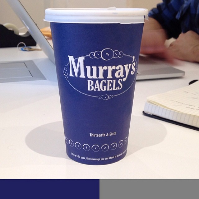 Best #bagels at #newyork #PicAnalyzer #chelsea #murrays