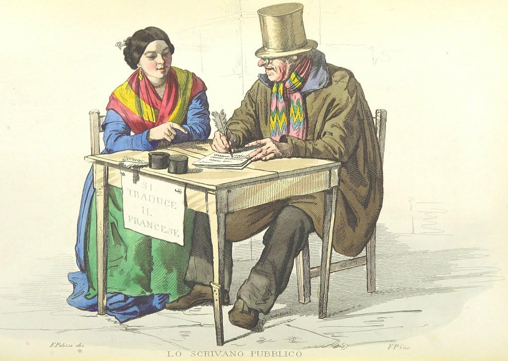 Image taken from page 228 of 'Usi e costumi di Napoli e contorni descritti e dipinti. Opera diretta da F. de Bourcard'
