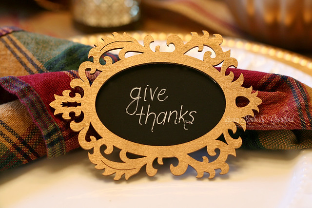 give thanks chalkboard by Kimberly Crawford