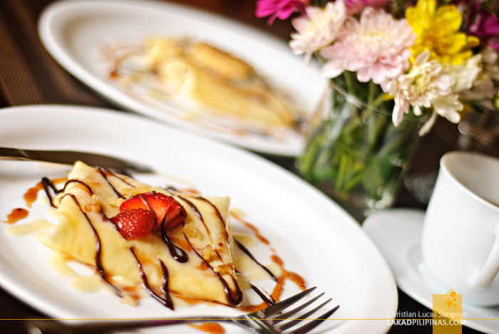 Crepe at Baguio Holiday Villas and Café