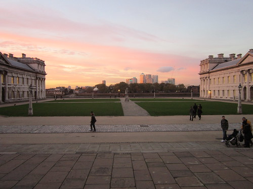 Greenwich: Old Royal Naval College - View of London