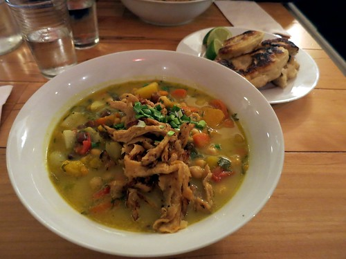 The Depanneur - Pepperpot Stew topped with Soy Curls