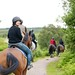 Bournemouth students horse ryding tour