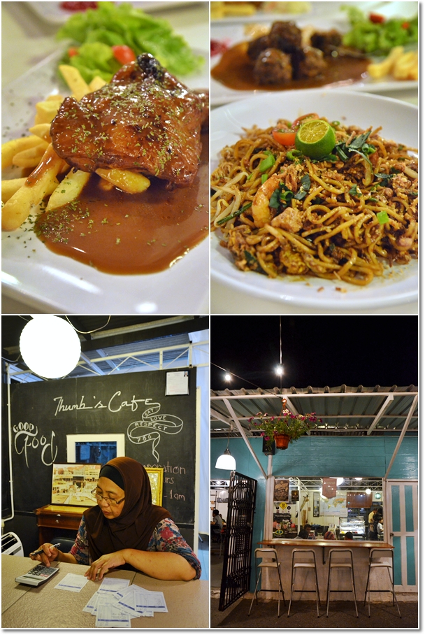Grilled Chicken Chop & Mee Mamak