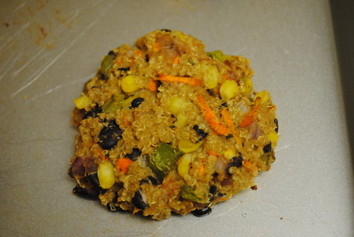 black bean and quinoa burgers (2)