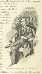 """British Library digitised image from page 56 of """"The Adventures of Sherlock Holmes"""""""