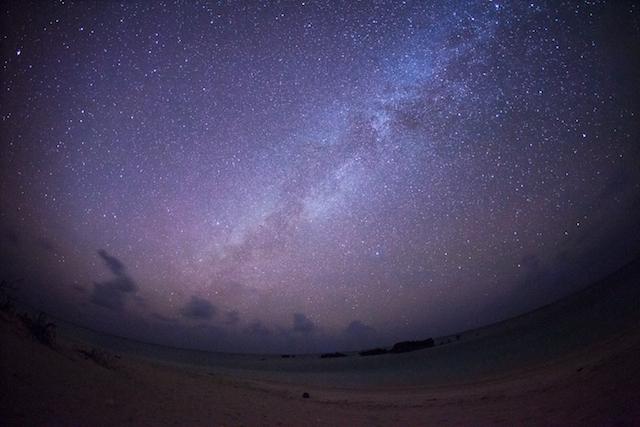 波照間島の夜空