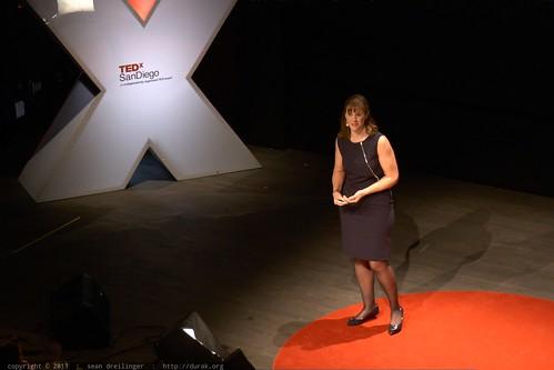 Kathy Myers Kicks off a Connection and Experience Break   TEDxSa