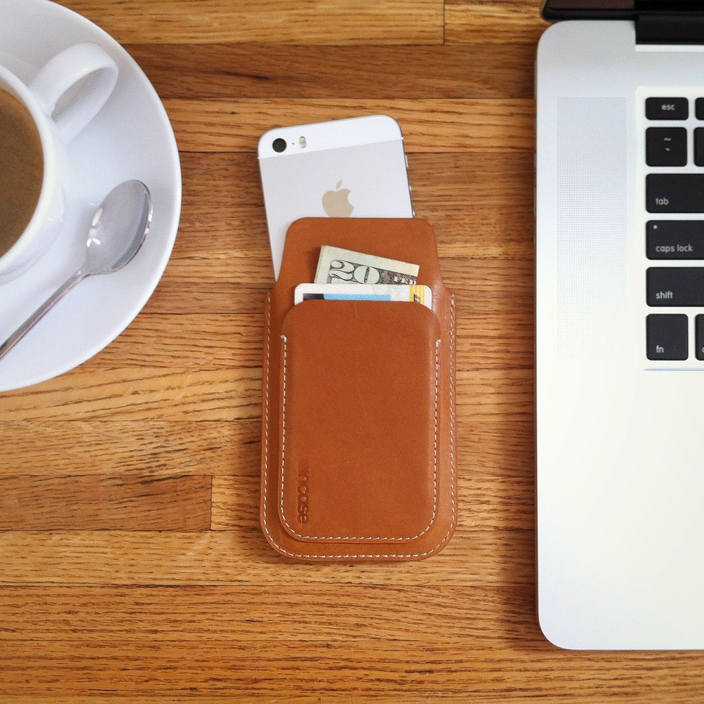 Leather iPhone Pouch