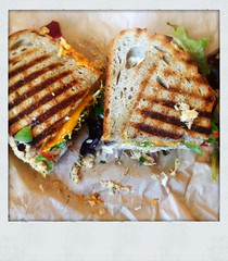 Delicious Modern Tuna Melt at Mendocino Farms, Los…