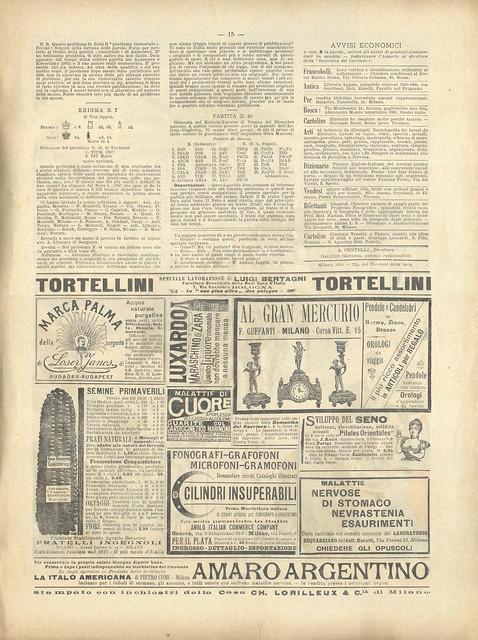 La Domenica del Corrieri, Nº 10, 11 Março 1900 - 12