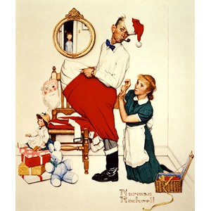Costume Noël Norman Rockwell