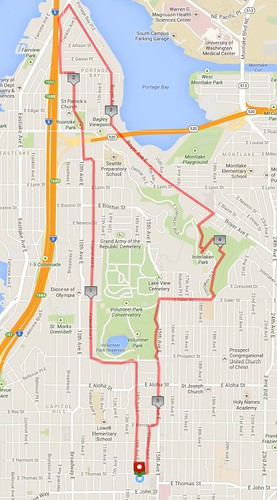 Today's awesome walk, 5.36 miles in 1:26 (427 ft gain) by christopher575