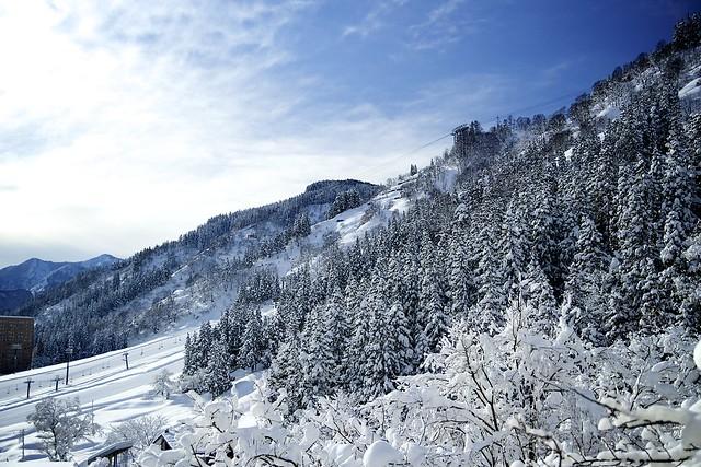 Snow mountain, Canon EOS KISS X7, Tamron AF 17-50mm f/2.8 Di-II LD Aspherical