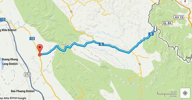 Laos route 8