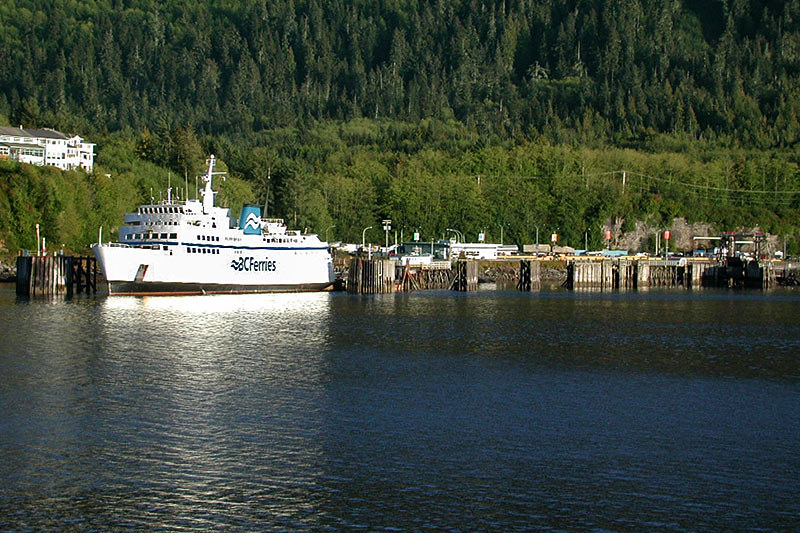Queen of Prince Rupert Ferry, Prince Rupert, West Coast of Northern British Columbia, Canada