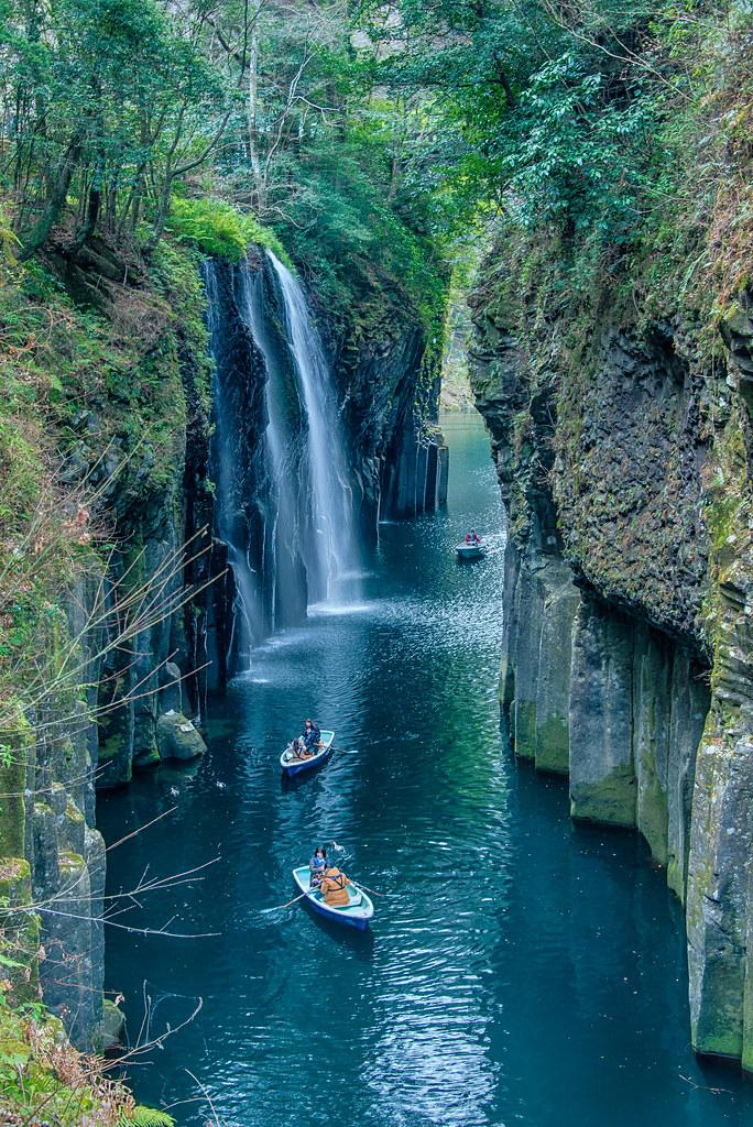 Takachiho Gorge 高千穂峡 五箇瀬川峡谷 Miyazaki Kyūshū Japan Flickr