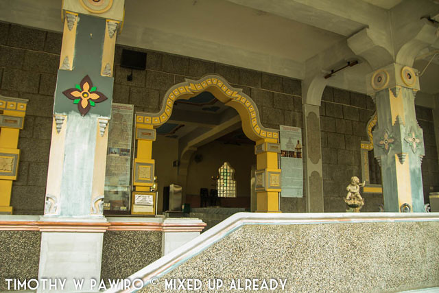 Asia - Indonesia - Medan - Marian Shrine Of Annai Velangkanni (Catholic Church) - The hall on the ground floor that looks like musholla