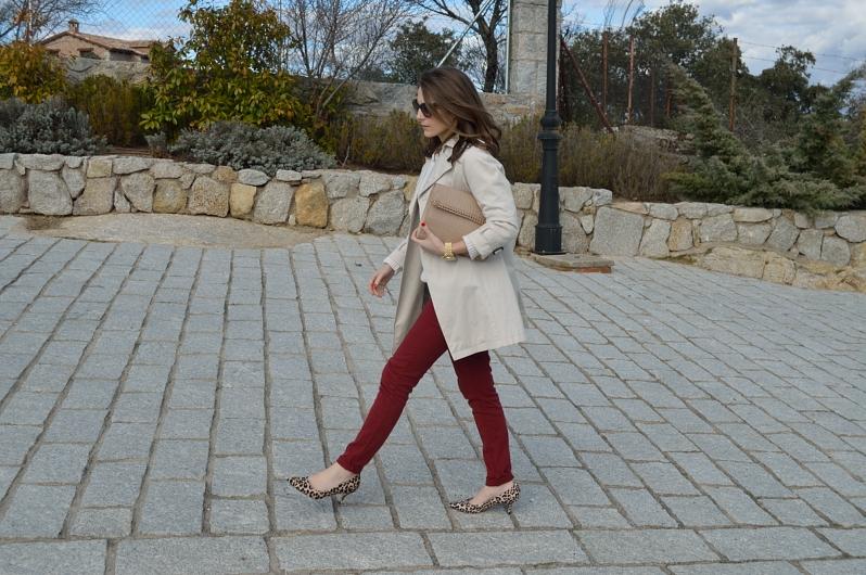 lara-vazquez-madlula-blog-burgundy-style-streetstyle-easy-chic