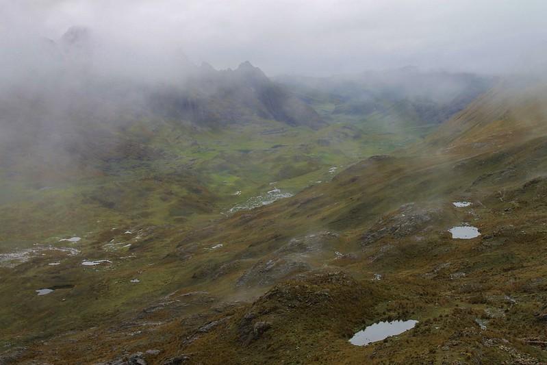 Dreich February in the Cordillera Blanca