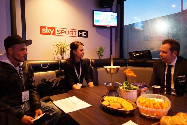 Young Journalists Bayern gegen Arsenal