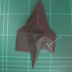 วิธีการพับกระดาษเป็นรูปจิงโจ้ (Origami Kangaroo) 010