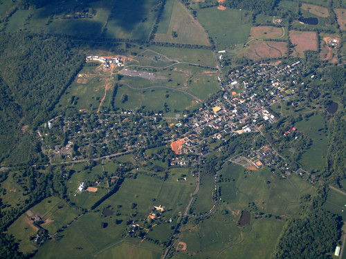 For rural towns like Middleburg, Virginia (pictured above), farmers markets are a vital part of their community.  With tourists drawn to the town and surrounding area for art and culture, having the community farmers market listed in USDA's online directory helps out-of-towners include local food and agriculture in their visit. Photo courtesy La Citta Vita.