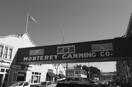 Monterey Cannery Row - Sign