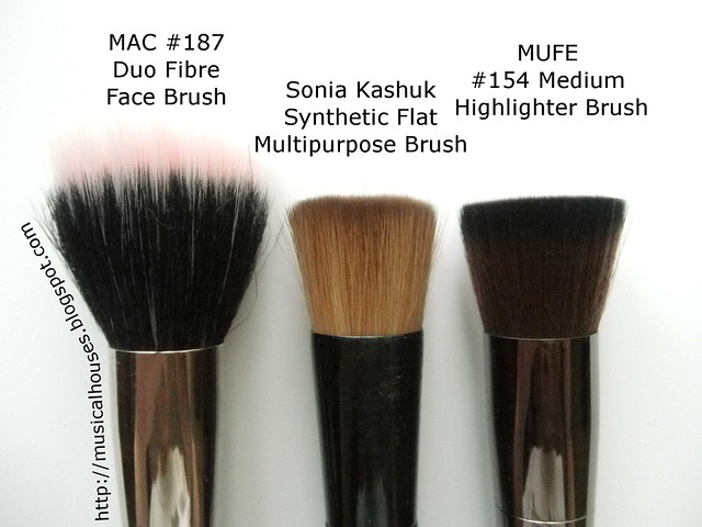 MUFE Highlighting Brush MAC 187 Sonia Kashuk Multipurpose Brush