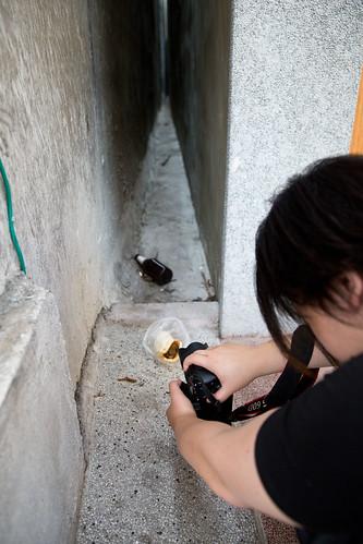 日本建築師藤森照信帶領「台北路上偵探團」觀察城市裡的枝微末節