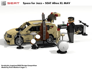 SEAT Altea XL MPV -  PQ35 (Eurobricks Miniland Car Design Competition)