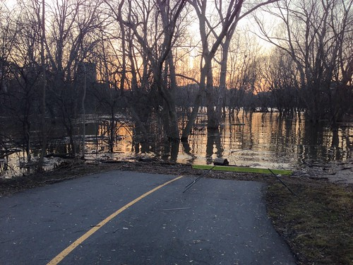 Walkabout: pathway: flooded