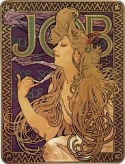 Alphonse Maria Mucha - JOB 1896