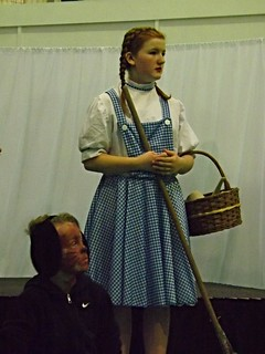 Dorothy, played by Georgia