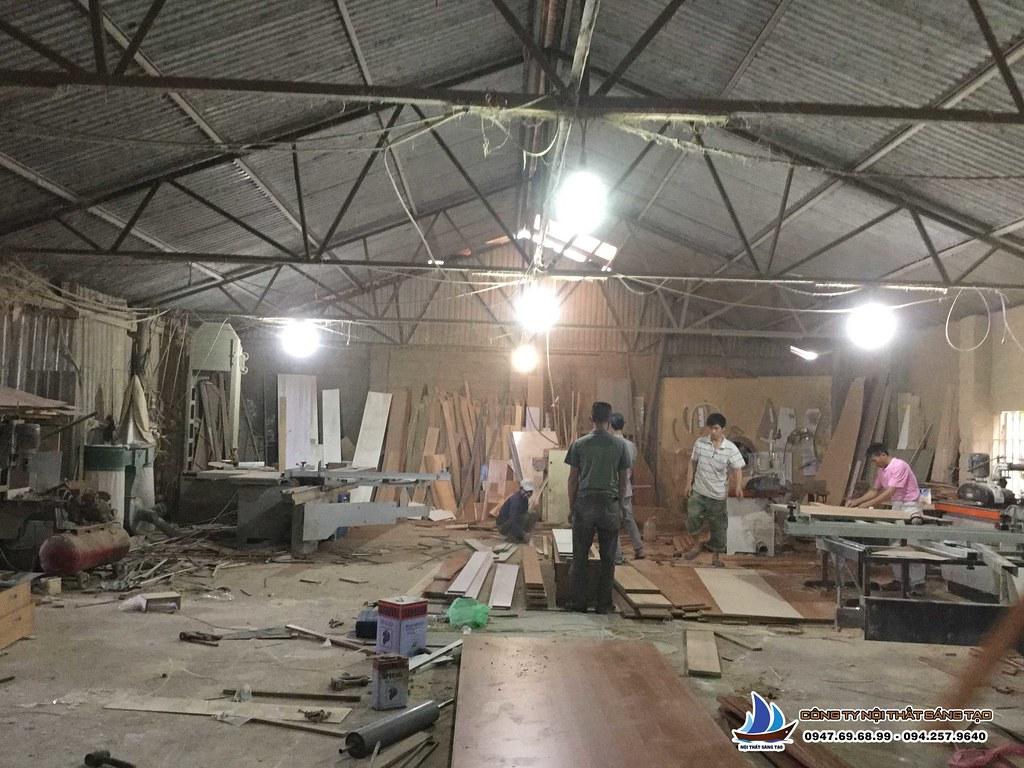 Xưởng sản xuất gỗ Nội thất Sáng tạo