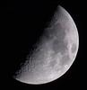 Waxing Crescent, 49% of the Moon is Illuminated taken with a Canon SX50 HS IMG_3261 by Ted_Roger_Karson