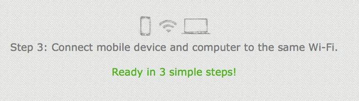 Turn Smartphone into remote mouse step 3