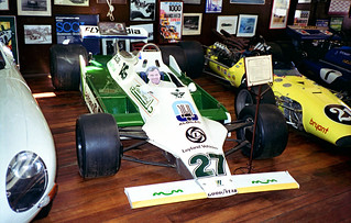 1994 - Alan Jones' 1980 Championship winning Williams FW07 F1 car, on display at the motor museum, York, Western Australia