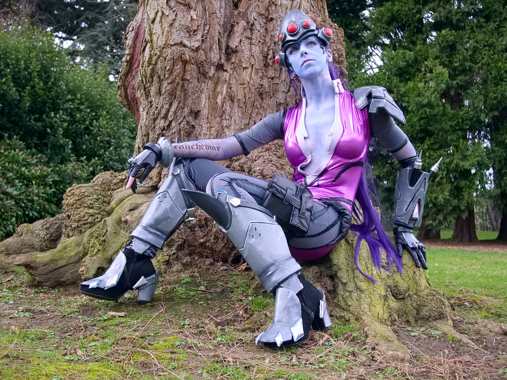 related image - Shooting Fatale - Overwatch - Enaelle's Arts - Bruxelles -2017-03-03- P2010152