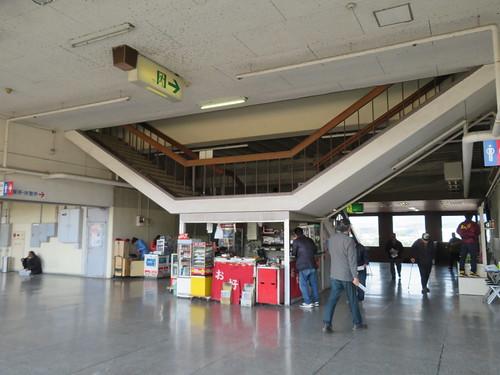 佐賀競馬場の2階中央にある売店