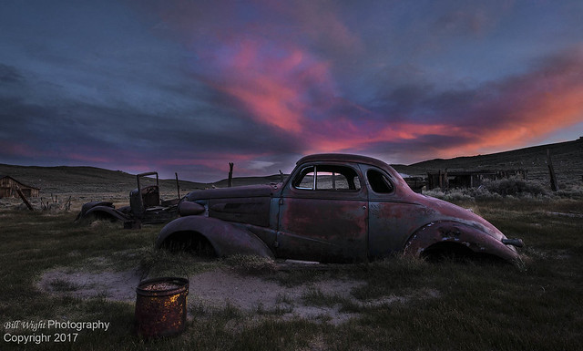 Bodie Old Car-Going Nowhere