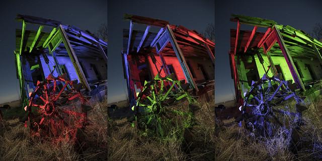 Plow Wheel Triptych III