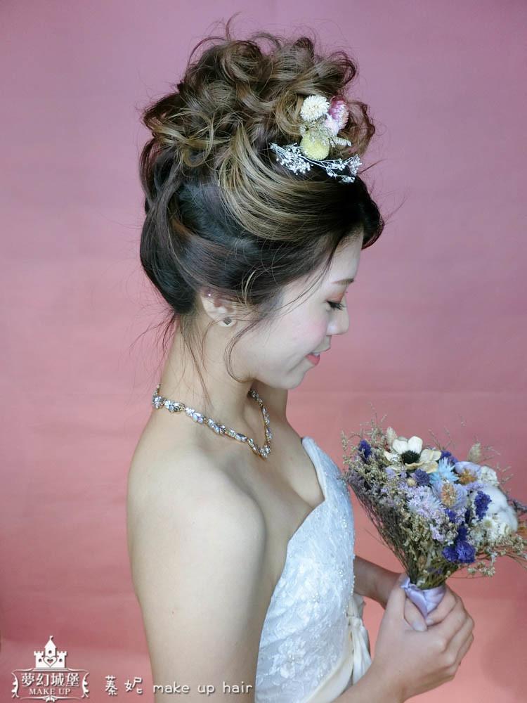 【新秘蓁妮】新娘造型創作 / 夢幻高盤髮