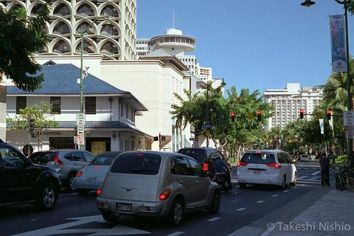 ワイキキの街並み / Townscape of Waikiki